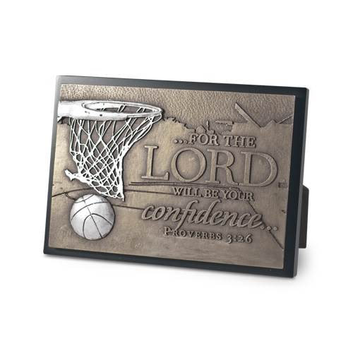 Basketball Moments of Faith Plaque