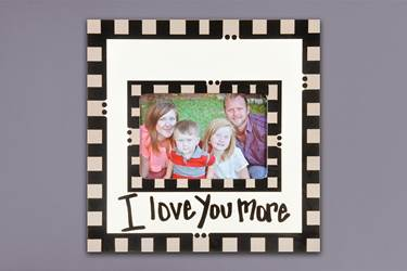 I Love You More Frame