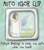 Daughter Visor Clip