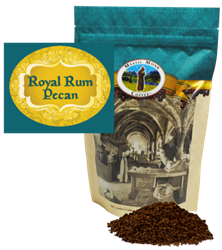 Mystic Monk Royal Rum Pecan 12oz. Ground Coffee