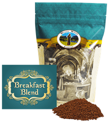 Mystic Monk Breakfast Blend 12oz. Ground Coffee