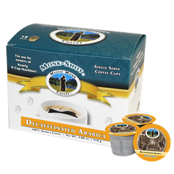 Mystic Monk Shots Vespers Decaf Single Serve Coffee, 10 ct.