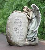 Outdoor Memorial Angel