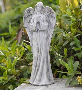 Outdoor Angel Statue angel statue, praying statue, outdoor angel statue, lawn decor, 18054