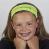 Inspirational Headbands I am smiling cmas15n, headbands, girls accessory, gift, hair band, message headband, hair accessory, i am smiling, h855yc
