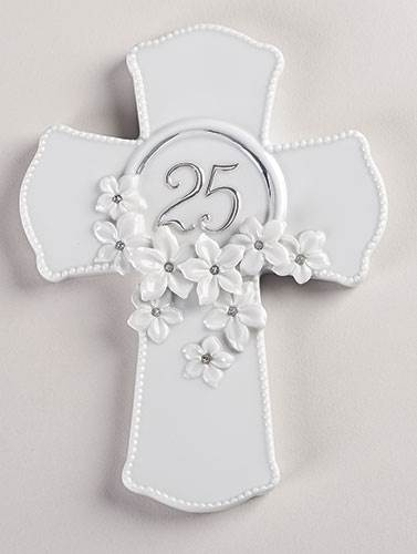 25th Anniversary Wall Cross