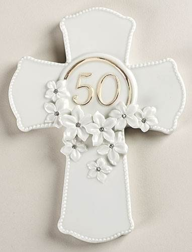 50th Anniversary Wall Cross