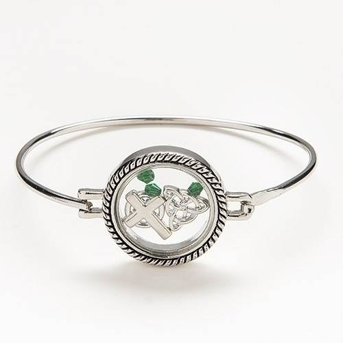 Irish Charm Locket Bracelet