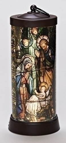 "Nativity 13"" LED Lantern"