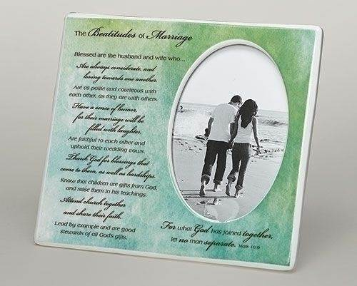 Beatitude of Marriage Frame