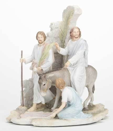 "13"" Palm Sunday Statue"