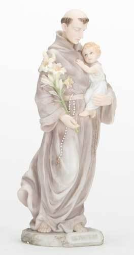 "8"" St. Anthony Statue"