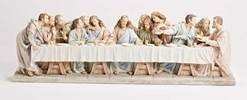 "28 3/4"" The Last Supper Statue statue, colored statue, resin statue, home decor, church decor, figurine,last supper, apostles, jesus,43085"