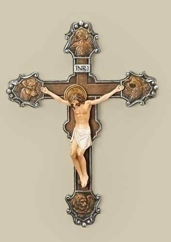 The Evangelist Crucifix evagelist, cross, curcifix, wall cross, wall crucifix, home cross, church cross, 40474, joseph studio