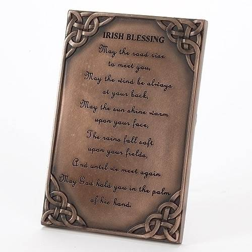 Irish Table Plaque