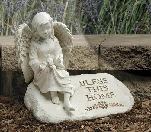 Bless This Home Garden Stone