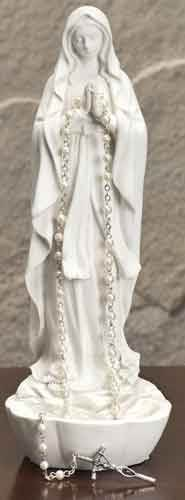 Our Lady of Lourdes Rosary Holder