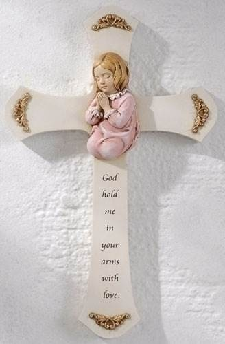 Baby Girl Wall Cross
