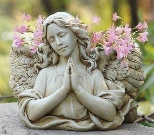 Angel Planter planter, angel gift, yard decor, lawn and garden, josephs studio, 68437
