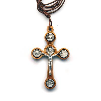 Pope Francis Crucifix Necklace