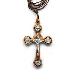 Pope Francis Crucifix Necklace papel necklace, pope francis, crucifix, jewelry, papel item, papel visit,n704pf