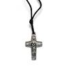 Pope Francis Metal Cross Necklace papel necklace, pope francis, crucifix, jewelry, papel item, papel visit,