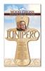 Saint Junipero Serra Carved Wall Cross mexican saint, junipero serra, wall cross, prayer cross, saint wall cross, new saint, carved cross,st. junipero, st. junipero serra