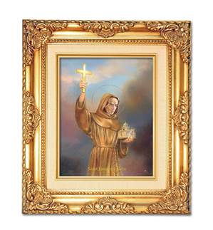 Saint Junipero Serra Framed Picture