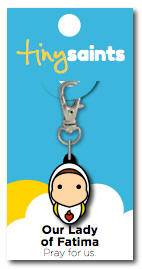 Our Lady Of Fatima Charm
