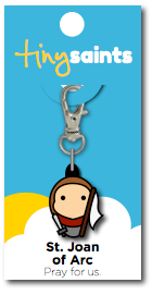 Saint Joan Of Arc Charm