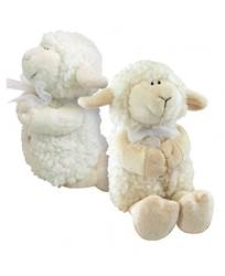 Jesus Loves me Musical Plush Lamb