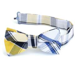 Boys Plaid Bowtie