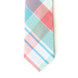 Boys Plaid Necktie