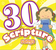 30 Scripture Songs Cd 978-1-63058-812-0, bible songs, baby cd, baby music, baby gift, shower gift, music, cd, 8120
