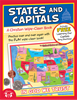 States And Capitals Christian Wipe-Clean Workbook 978-1-63058-829-8, wipe off games, activities,childrens activity book, teachers tool, travel book, travel activities, childrens gift, holiday gift, Sunday school materials, teachers material,8298