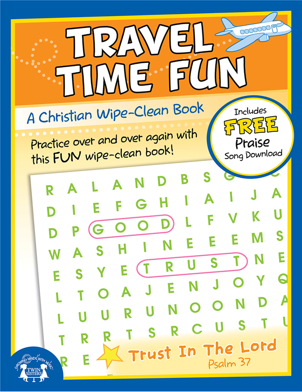 Travel Time Fun Christian Wipe Clean Workbook