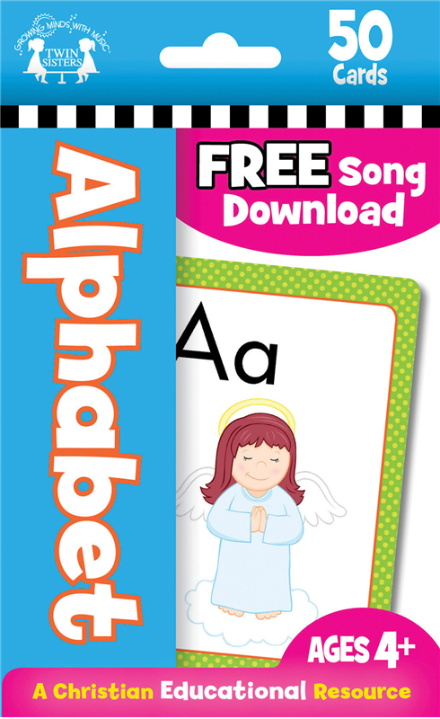 Alphabet Christian 50-Count Flash Cards