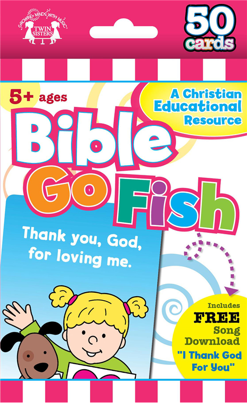 Bible Go Fish Christian 50-Count Flash Cards
