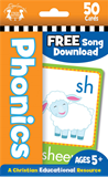 Phonics Christian 50-Count Flash Cards