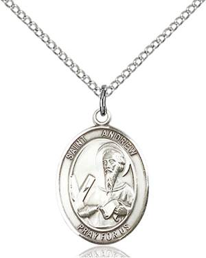St. Andrew the Apostle Necklace Sterling Silver