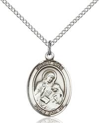 St. Ann Necklace Sterling Silver