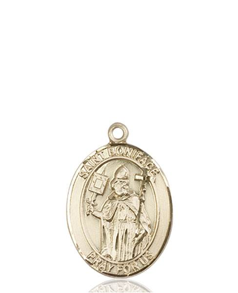 St. Boniface Necklace Solid Gold