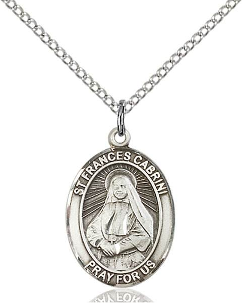 St. Frances Cabrini Necklace Sterling Silver