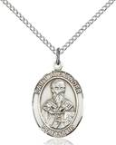 St. Alexander Necklace Sterling Silver