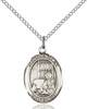 St. Benjamin Necklace Sterling Silver