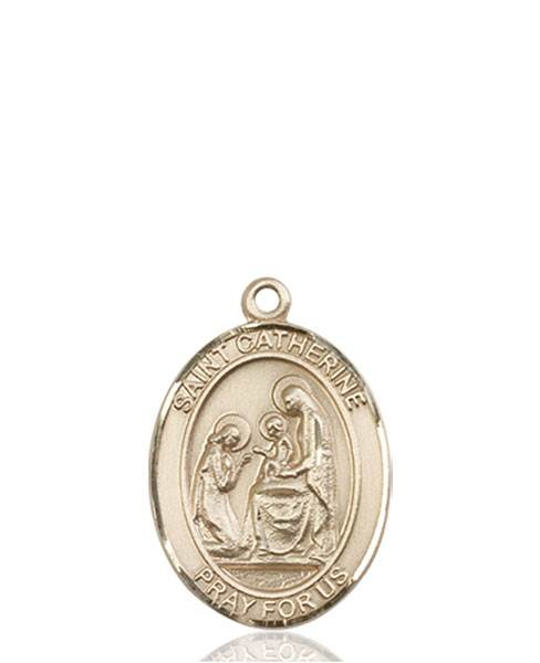 St. Catherine Necklace Solid Gold