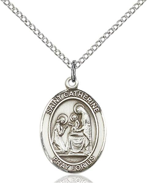 St. Catherine Necklace Sterling Silver