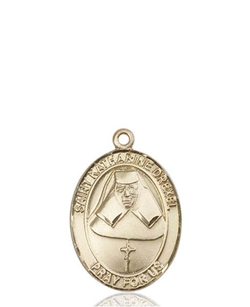 St. Katharine Drexel Necklace Solid Gold