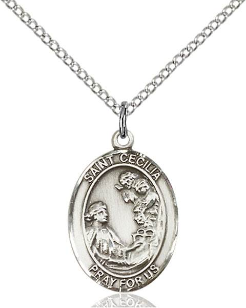 St. Cecilia Necklace Sterling Silver