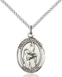 St. Bernadette Necklace Sterling Silver